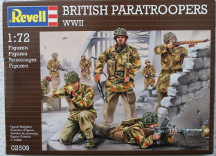 Revell 1/72 RV02509 British Paratroopers (WW2)